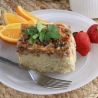Crockpot Breakfast Casserole | Perfect for anytime!