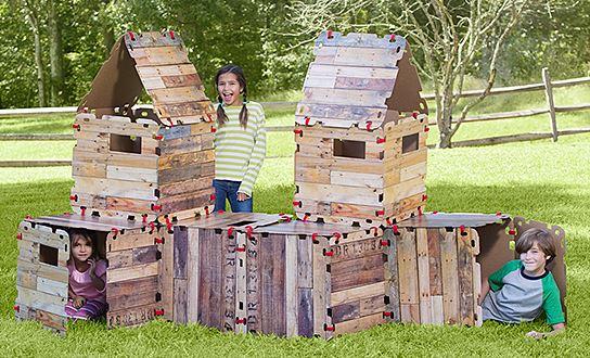Wood Panel Fort