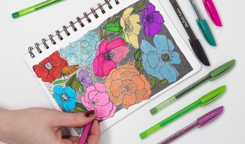 Zebra Pen Sale Doodling