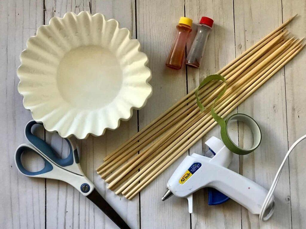 Paper Flowers Craft
