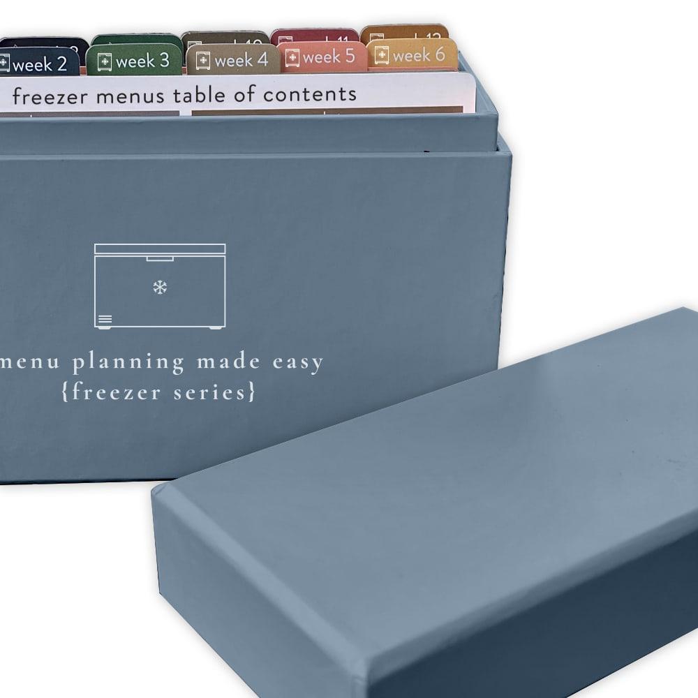 Freezer Menu Box