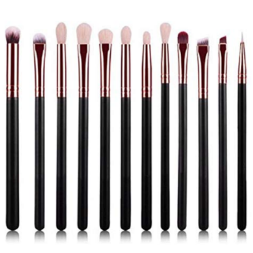 Makeup Brush Set, 12 pc