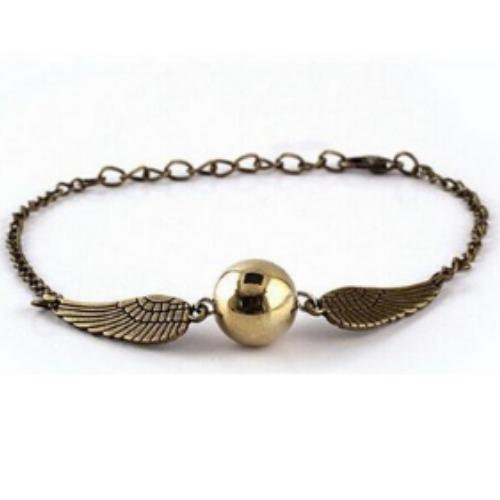 Quidditch Golden Snitch Bracelets